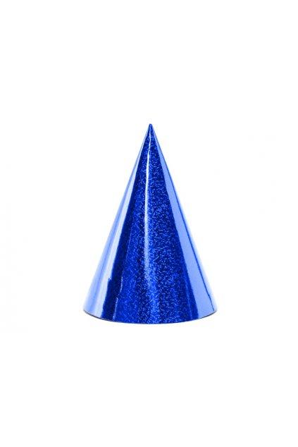 Párty čepice 6ks - modrá