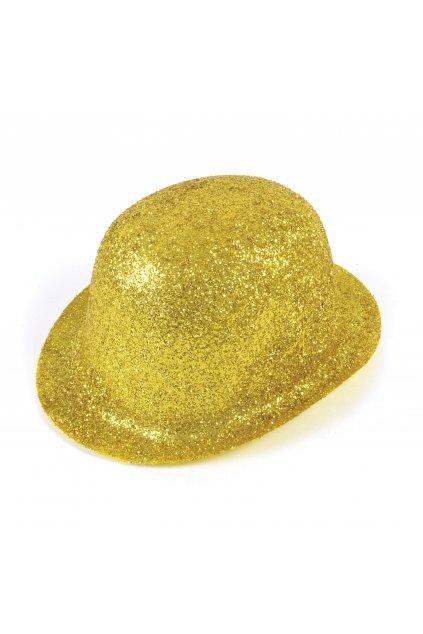 Párty klobouk - zlatá buřinka