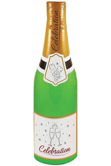Nafukovací láhev šampaňského