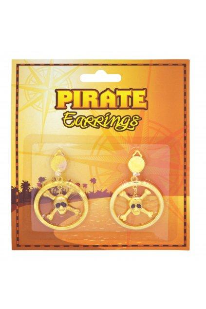 Náušnice pro piráta - zlaté