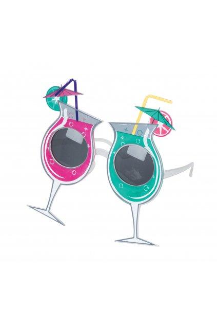 Párty brýle - koktejl