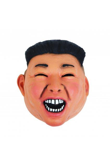 Maska Kim Čong-un