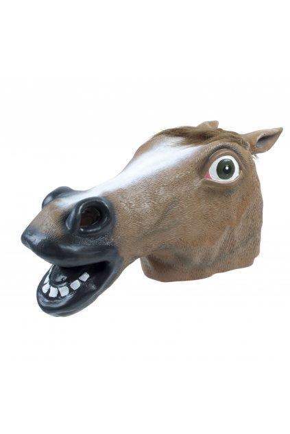 Maska koně - hněda