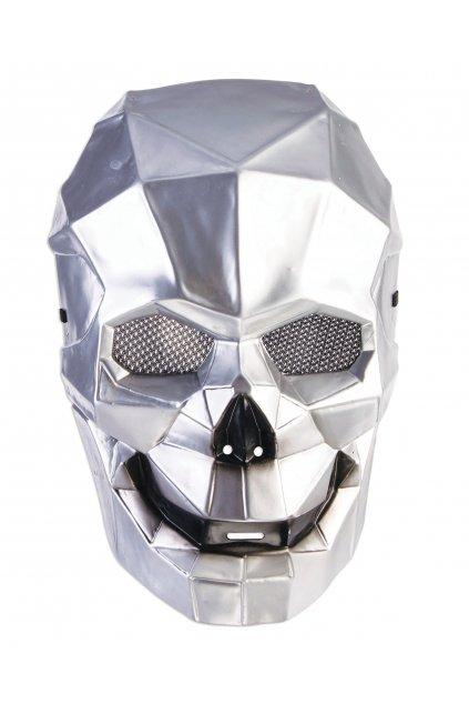 Maska lebka - cyborg