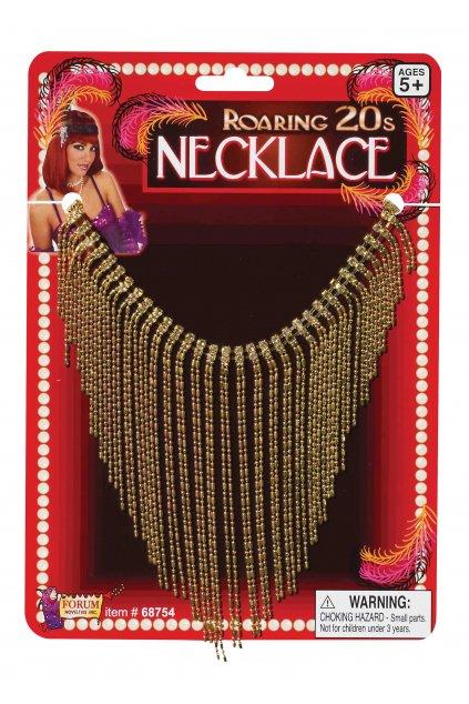 Zlatý náhrdelník 20. léta - prohibice