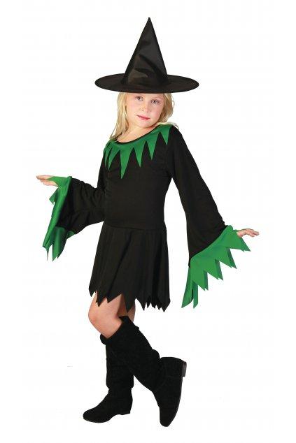 Čarodějnice - dětský karnevalový kostým