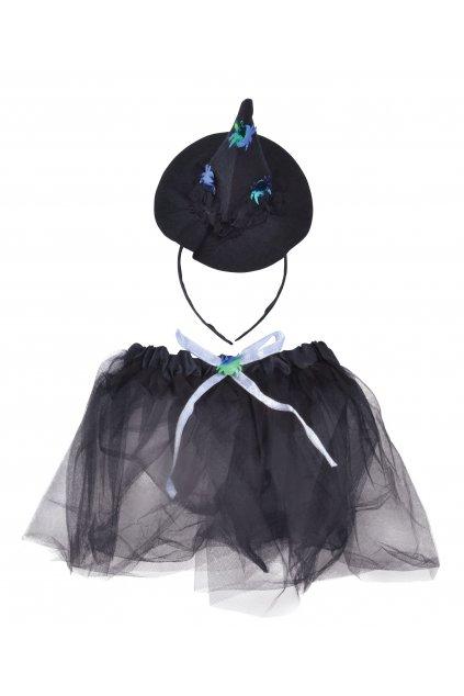 Dětský kostým čarodějnice - sada