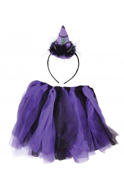 Čarodějnice dětský kostým - sada