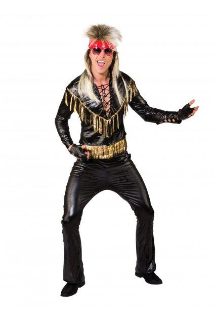 Rocker - pánský retro kostým 80. léta