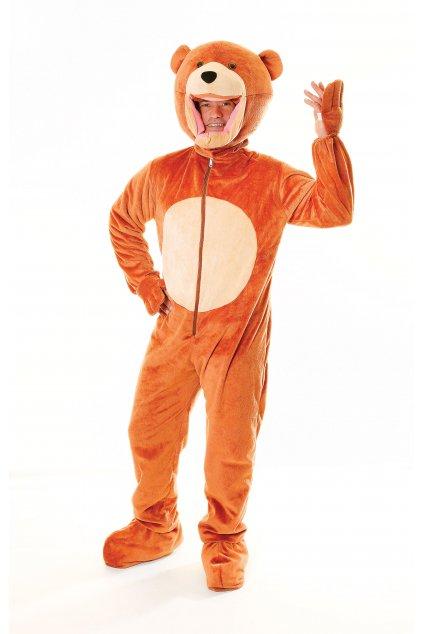 Medvěd - zvířecí karnevalový kostým