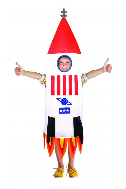 Raketa - dětský maškarní kostým