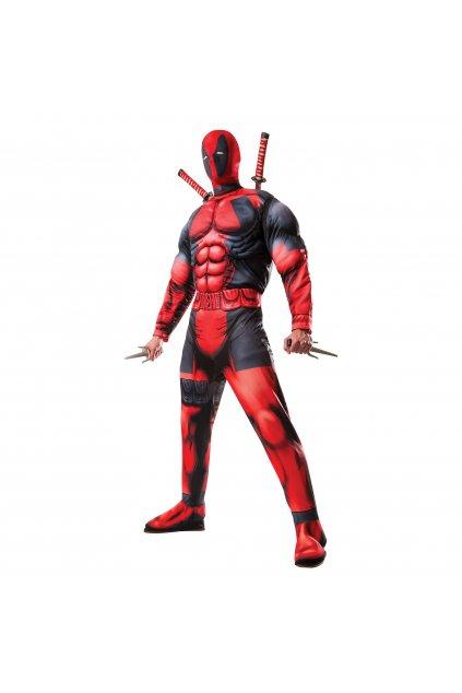Pánský kostým Deadpool deluxe
