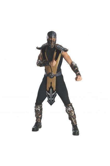 Pánský kostým Scorpion - Mortal Kombat