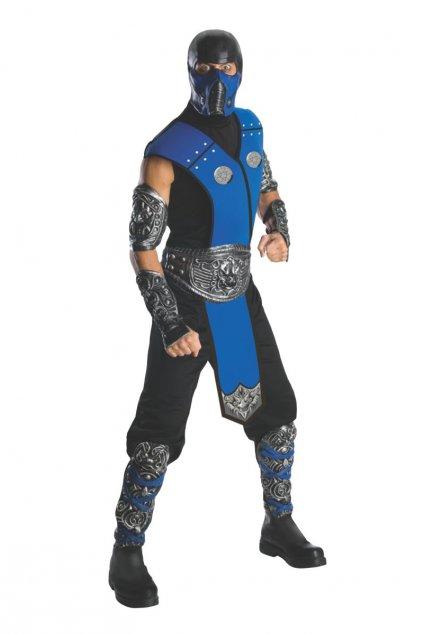 Pánský kostým SubZero - Mortal Kombat