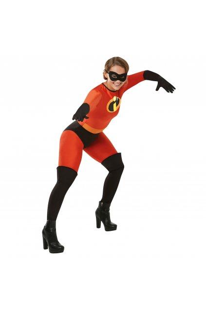 Dámský kostým Elastička - Úžasnákovi - Mrs. Incredible