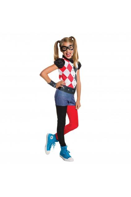Dětský kostým Harley Quinn