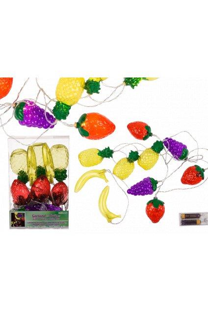 Ovoce - svítící dekorace 2m