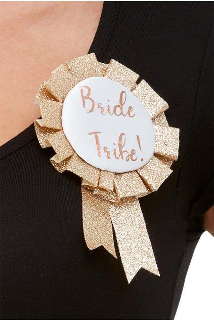 Bride Tribe - zlatá brož - Rozlučka se svobodou
