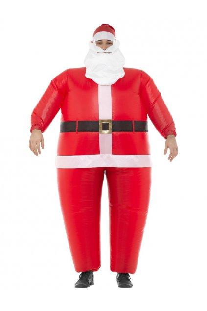 Kostým Santa Claus nafukovací