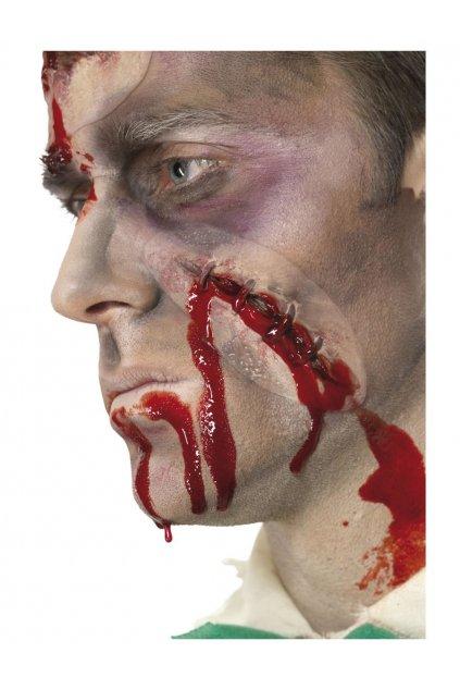 Umělá jizva s krví