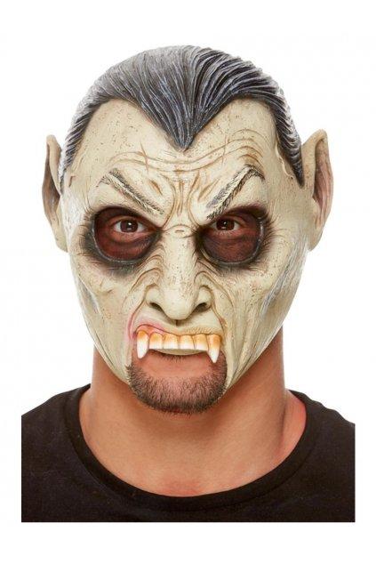 Upír - latexová maska