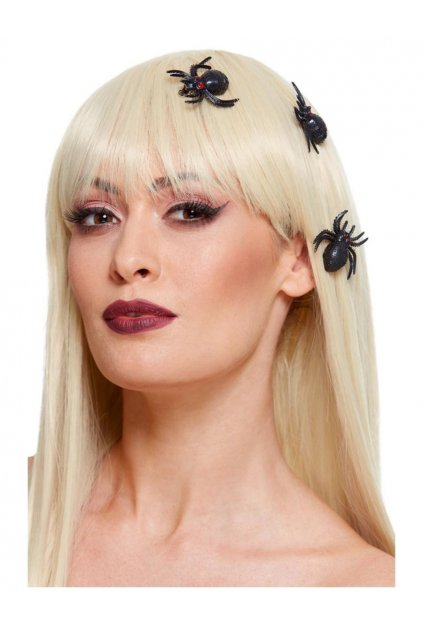 Pavouk na sponce do vlasů 3ks