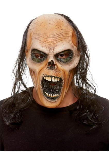 Zombie latexová maska