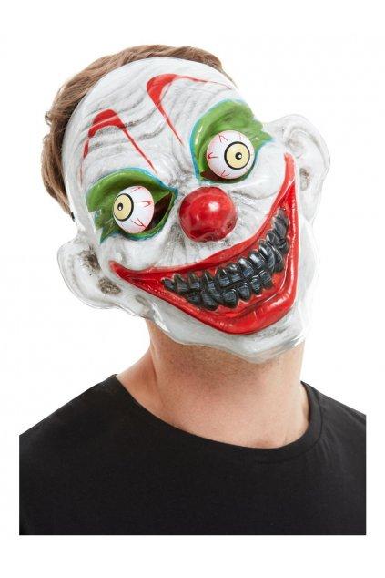 Maska klaun Halloween