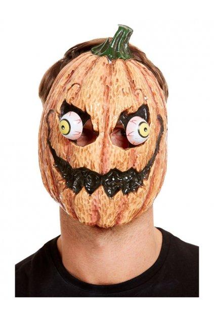 Maska Halloween dýně