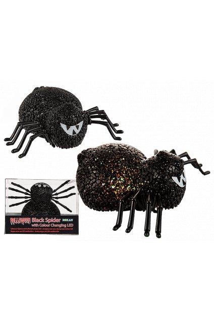 Velký pavouk svítící