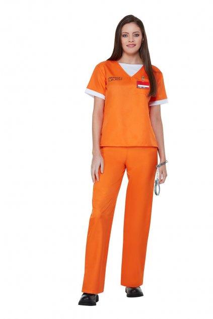 Vězeňský dámský kostým - Orange is The New Black