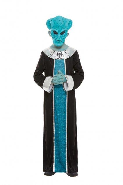 Dětský kostým modrého Mimozemšťana