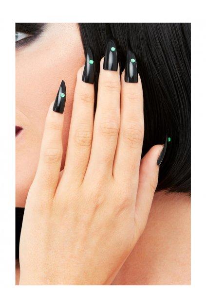 Nalepovací nehty černé