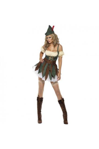 robin hood lesni zena pujcovna kostymu