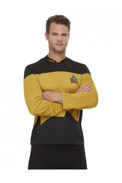 Kapitán Kirk - uniforma Star Trek- pánský kostým