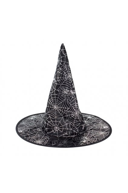 hat witch in spider web