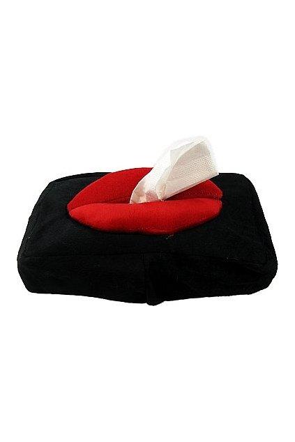 tissue box lips