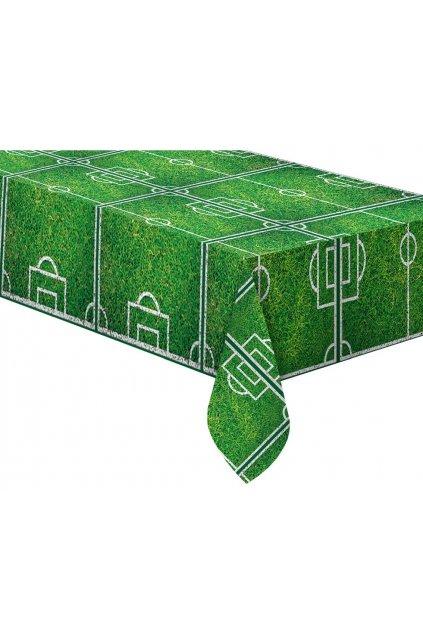 plastic tablecloth football party 120x180 cm