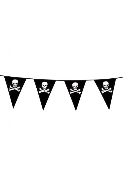 banner flags pirate 6 m
