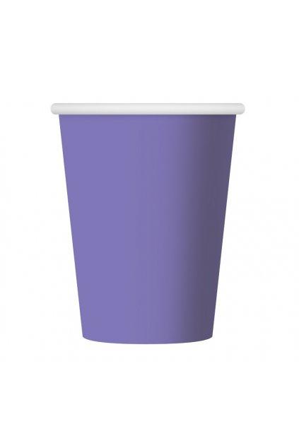 paper cups one coloured lavender 270 ml 6 pcs