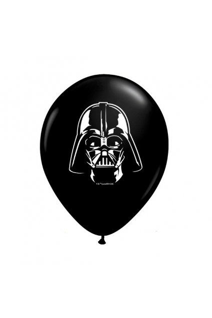 star wars darth vader face 5 onyx black 100ct