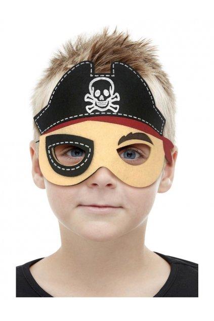 Pirát - dětská maska