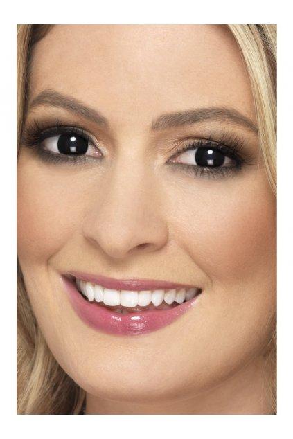 Černé kontaktní čočky - měsíční