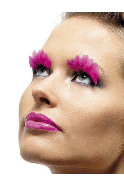 federschmuck federn kuenstliche wimpern 439073100 pink