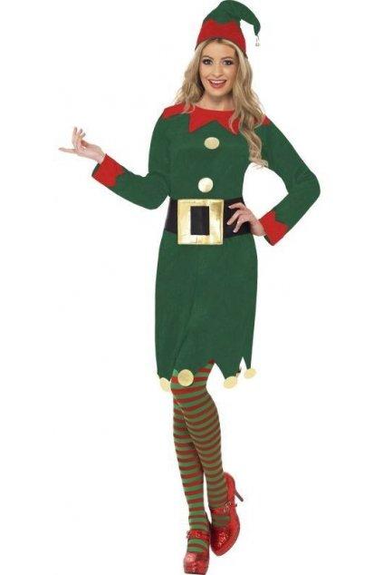 Kostým - Elfka s páskem - výprodej z půjčovny