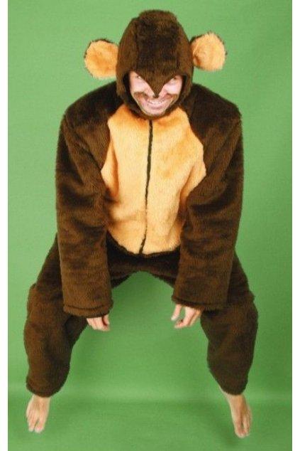 Kostým opice - kvalitní - výprodej z půjčovny