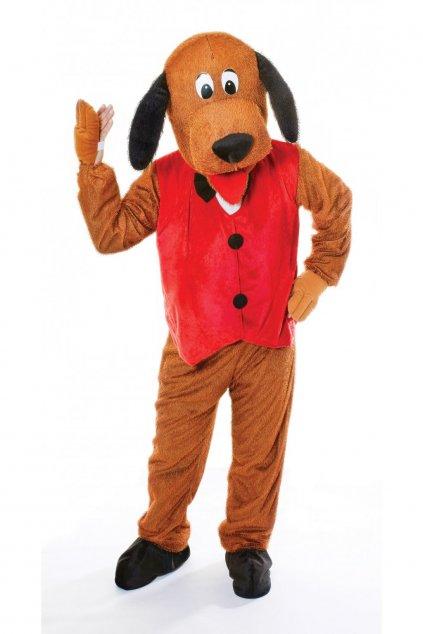 89712 kostym maskot psa