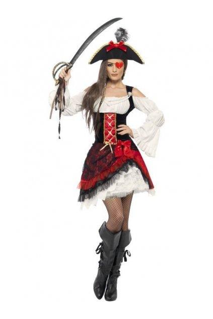 Kostým okouzlující pirátská dívka - výprodej z půjčovny