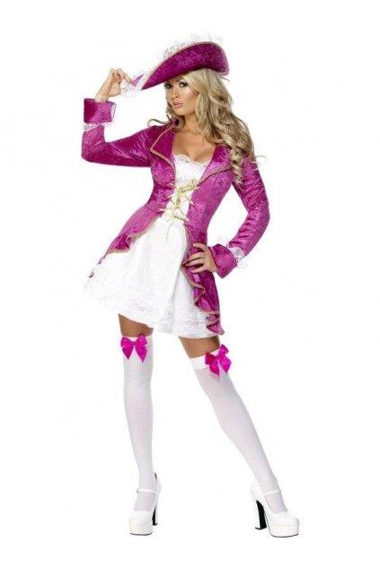 Kostým - Sexy pirátka - výprodej z půjčovny