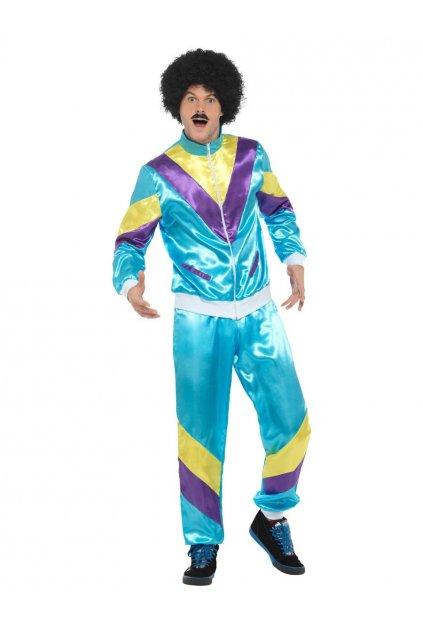 Retro kostým - šusťáková souprava 80.léta - výprodej z půjčovny